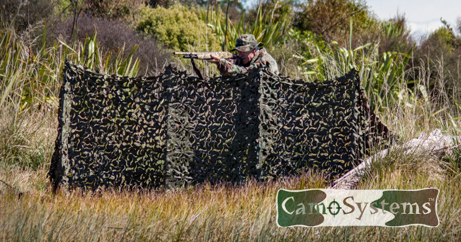 Camosystems camouflage net duck shooter