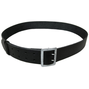 Black Leather Police Belt