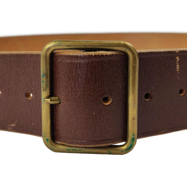Swiss Leather Brown Belt