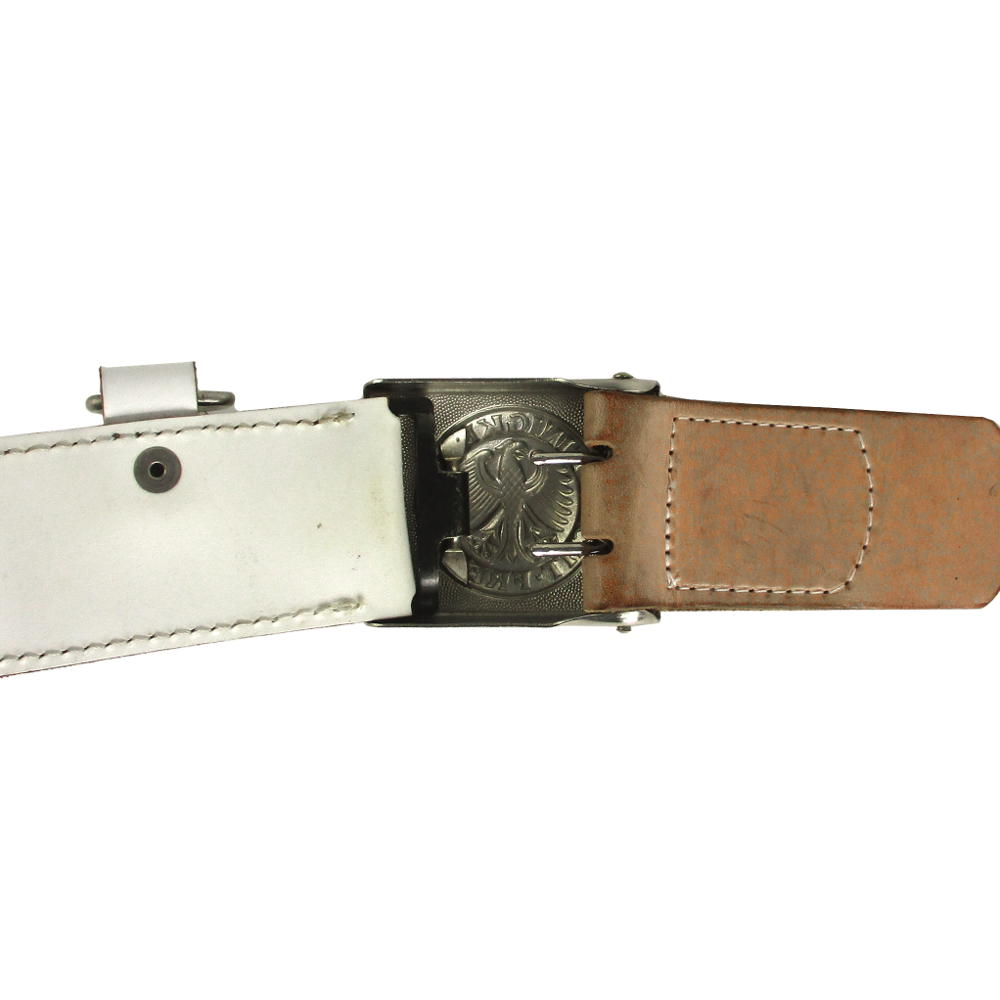 White East German Military Police Type Holster