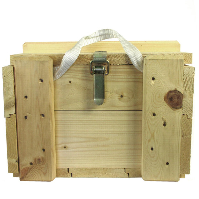 French Army Wooden Ammo Box