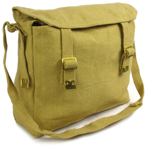 Medium Canvas Haversack - Khaki