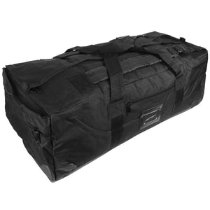 Black Combat Duffel Bag