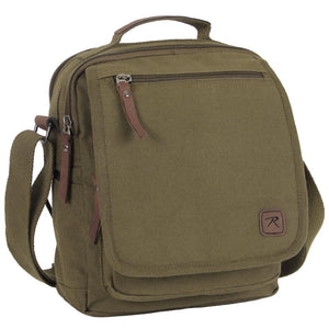 Tactical Canvas Shoulder Bag