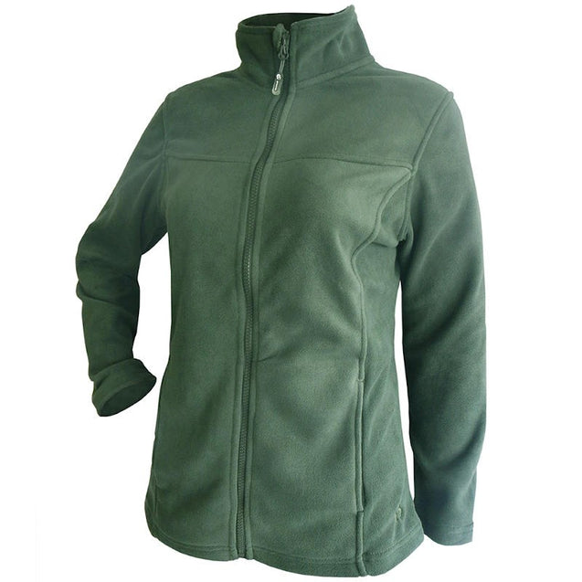 Ivy Fleece Jacket - Moss Green