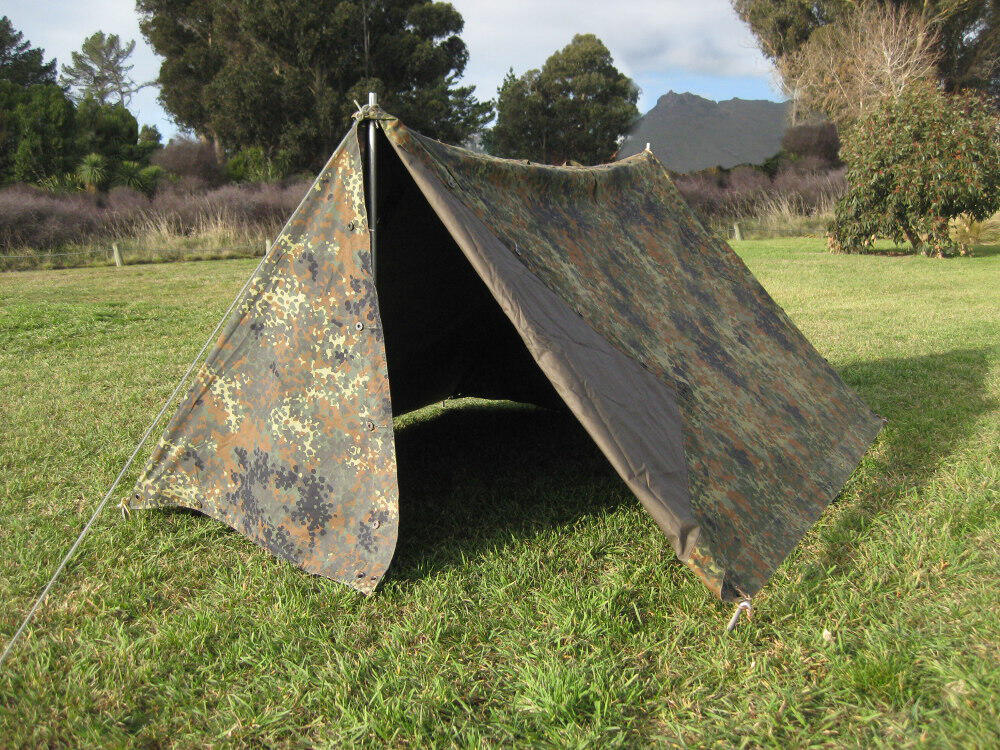 German Army 2 Man Tent