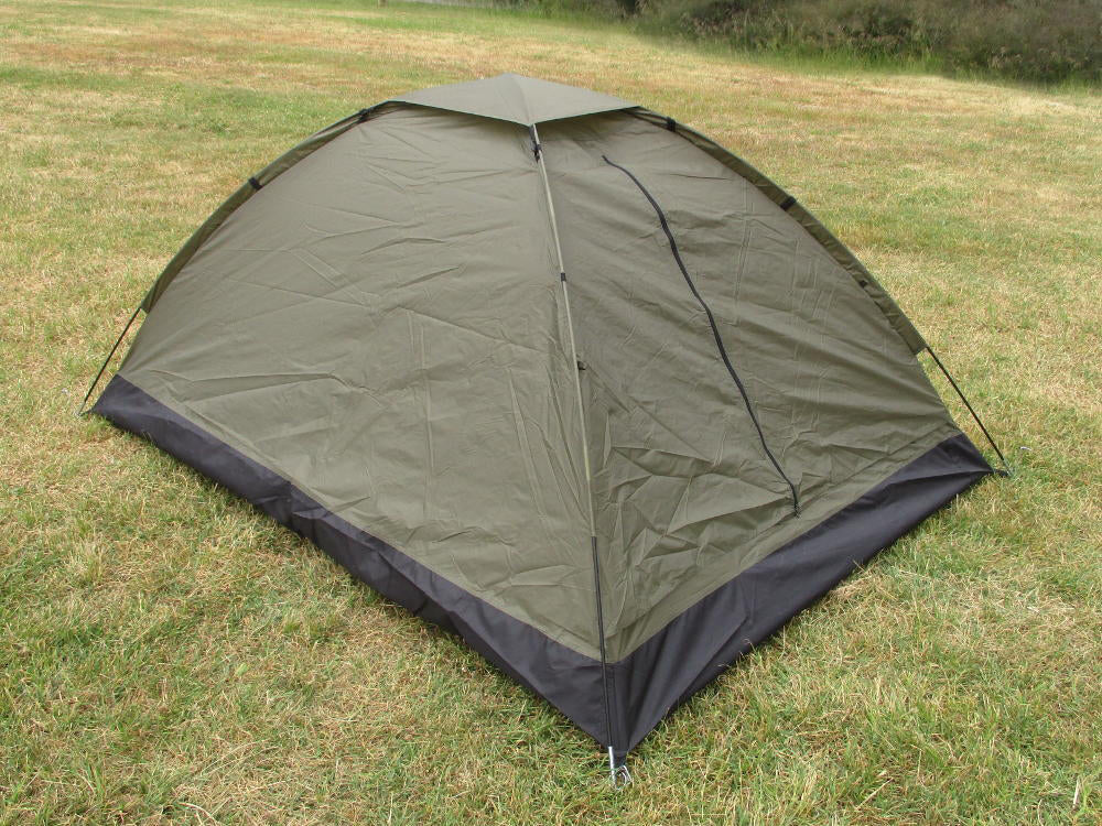 Olive Drab Two Person Dome Tent