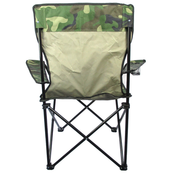 Camouflage Camping Chair Army And Outdoors