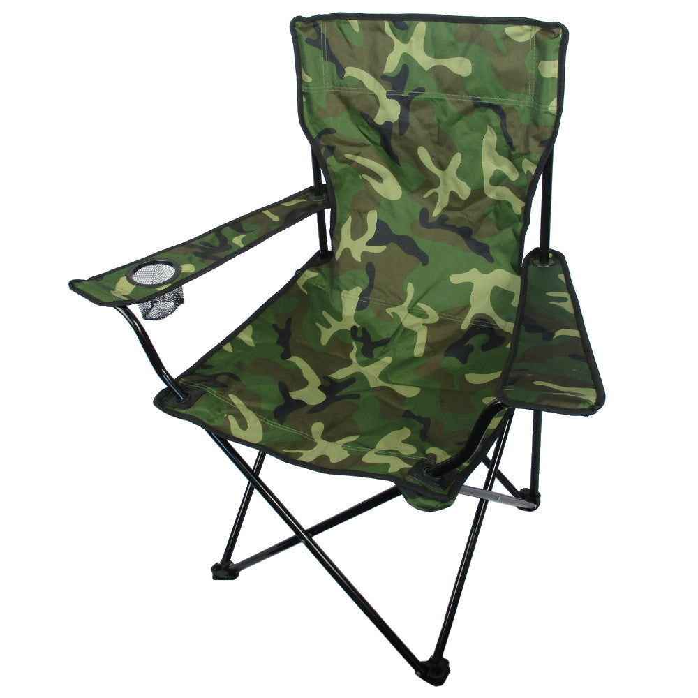 Camouflage Camping Chair