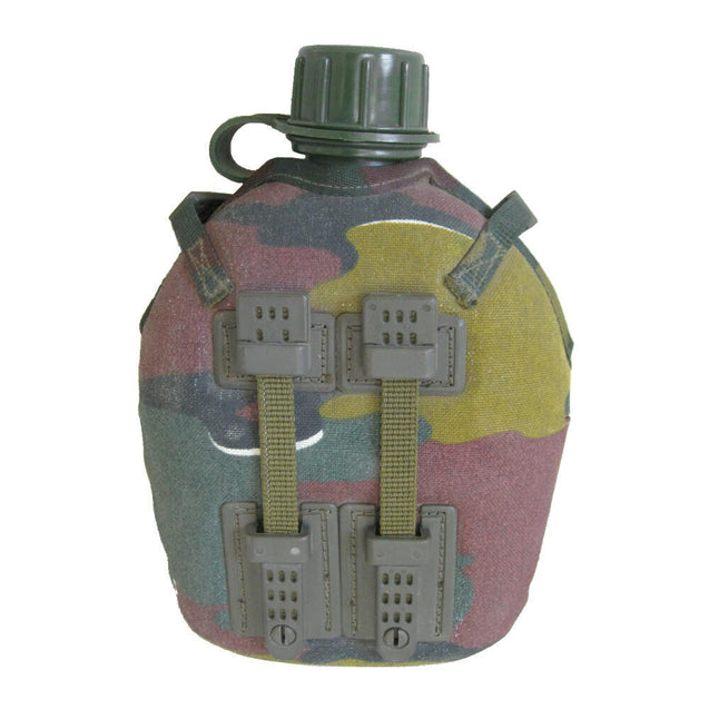Belgian Canteen With Camo Cover