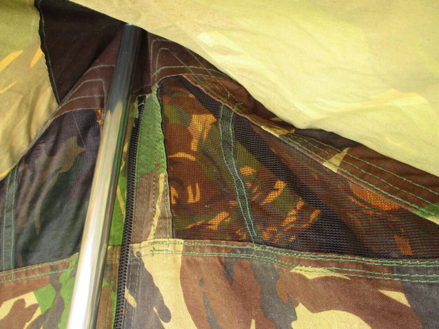 Dutch Army DPM Camo 1-Man Tent