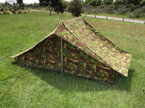 Dutch Army DPM Camo 1-Man Tent & Tents u0026 Bashas | Army and Outdoors