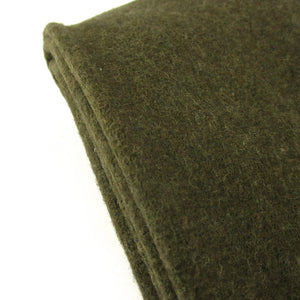 Olive Drab Wool Blanket