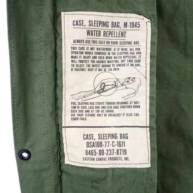 US Army M1945 Sleeping Bag Cover
