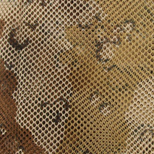 choc chip camo net detail