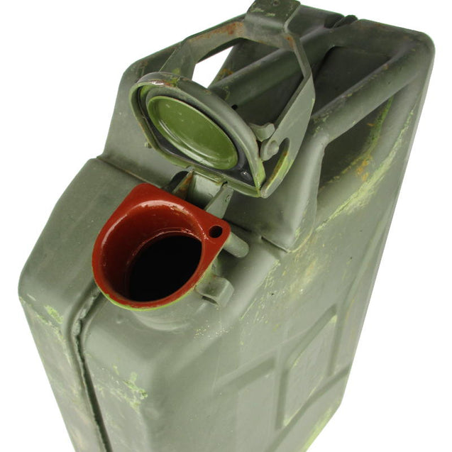 French Army Wide Mouth 20L Jerry Can