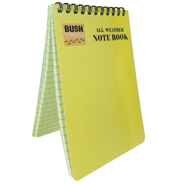 All Weather Yellow Notebook
