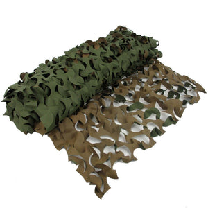 Camo Net Brown & Green 6 x 2.4m