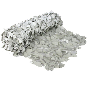 Camo Net White & Grey 2.5 x 0.6m