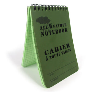 All Weather Olive Drab Notepad