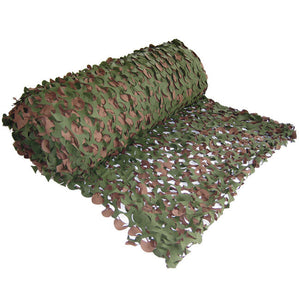 Basic Green & Brown Camo Net - Per Metre