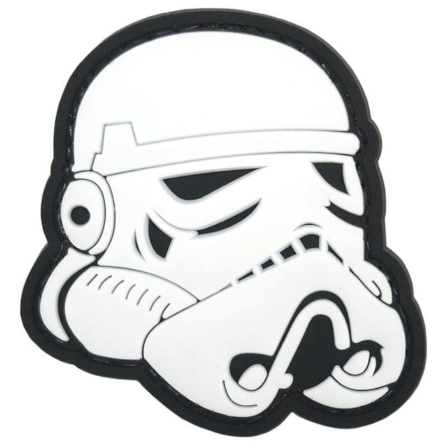 Space Trooper Helmet PVC Patch