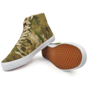 Multicam High Top Shoes