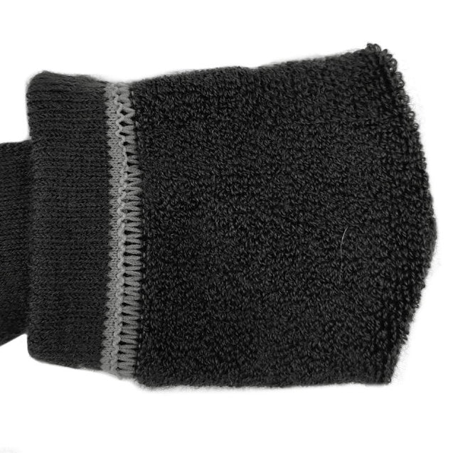Black Merino Wool Socks