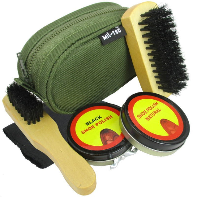 Leather Boot Cleaning Kit - OD
