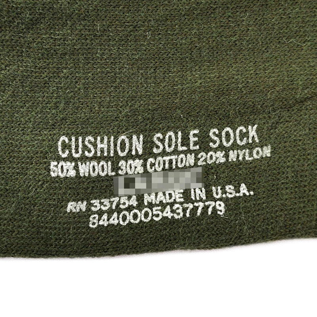 Cushion Sole Olive Drab Socks