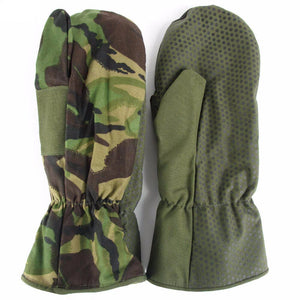 British Army DPM Lined Mittens - New