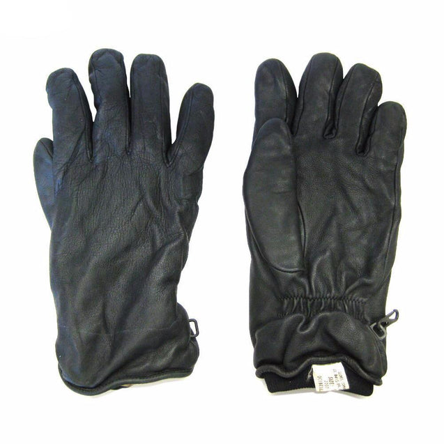 Assorted Genuine British Military Soldier 95 Black Leather Combat Gloves MVP