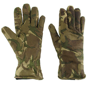 British Army MTP Leather Combat Gloves