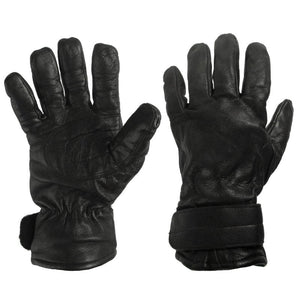 Austrian Army Leather Gloves