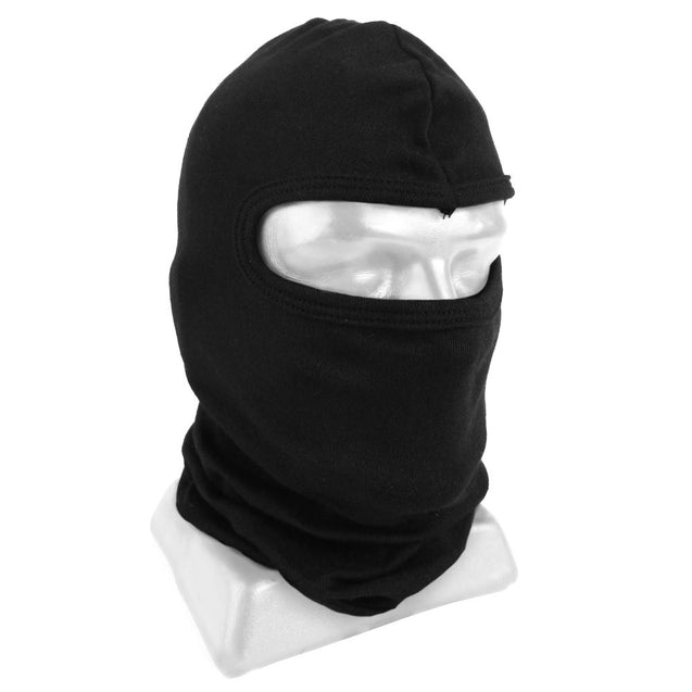 Black One Hole Nomex Balaclava