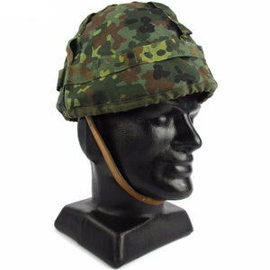 Flecktarn Helmet Cover - New