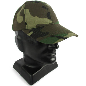 43add22e1a6 Woodland Camo Baseball Cap