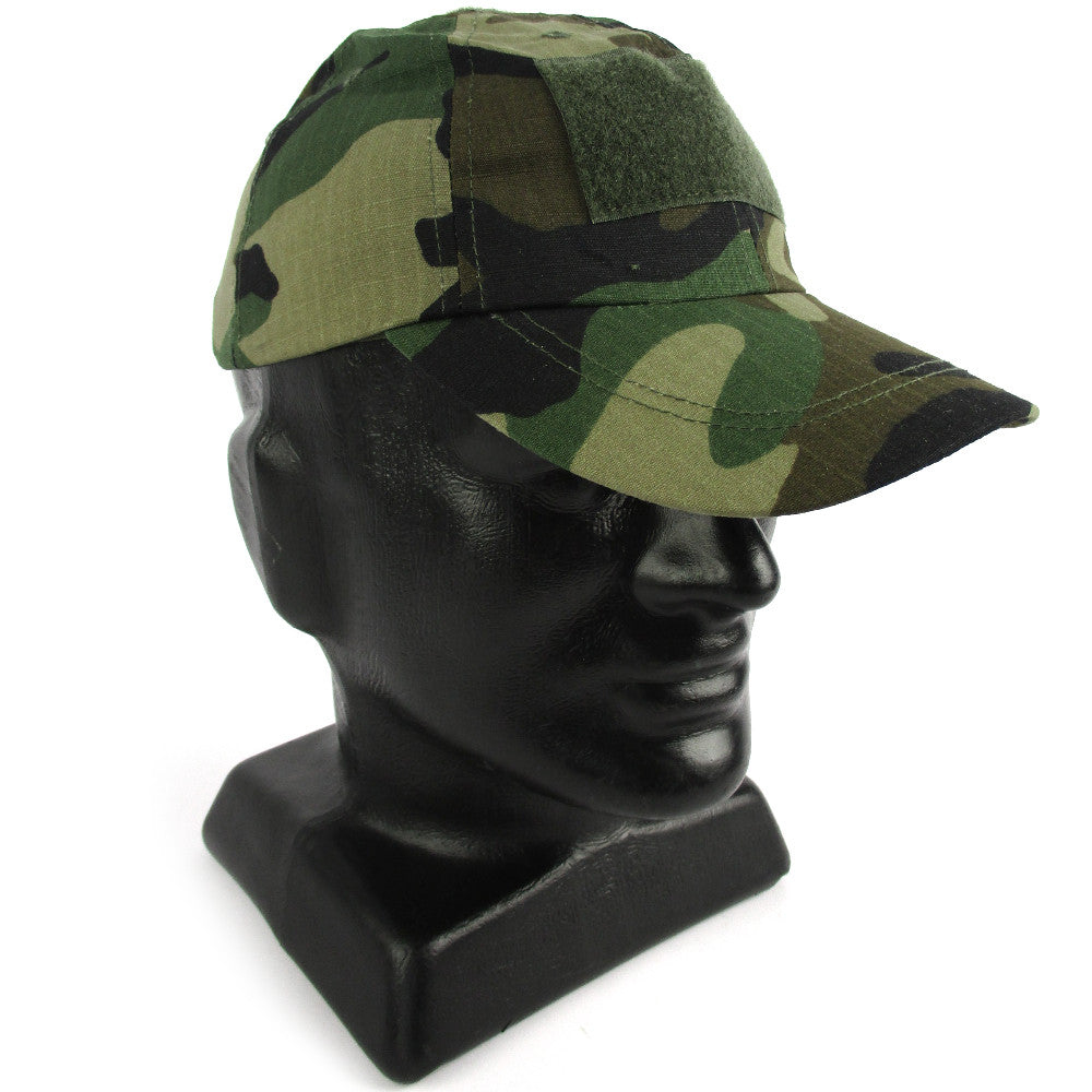 Tactical Woodland Baseball Cap