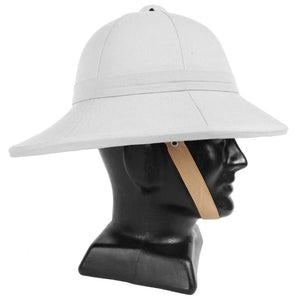 British Wolseley Pith Hat - White