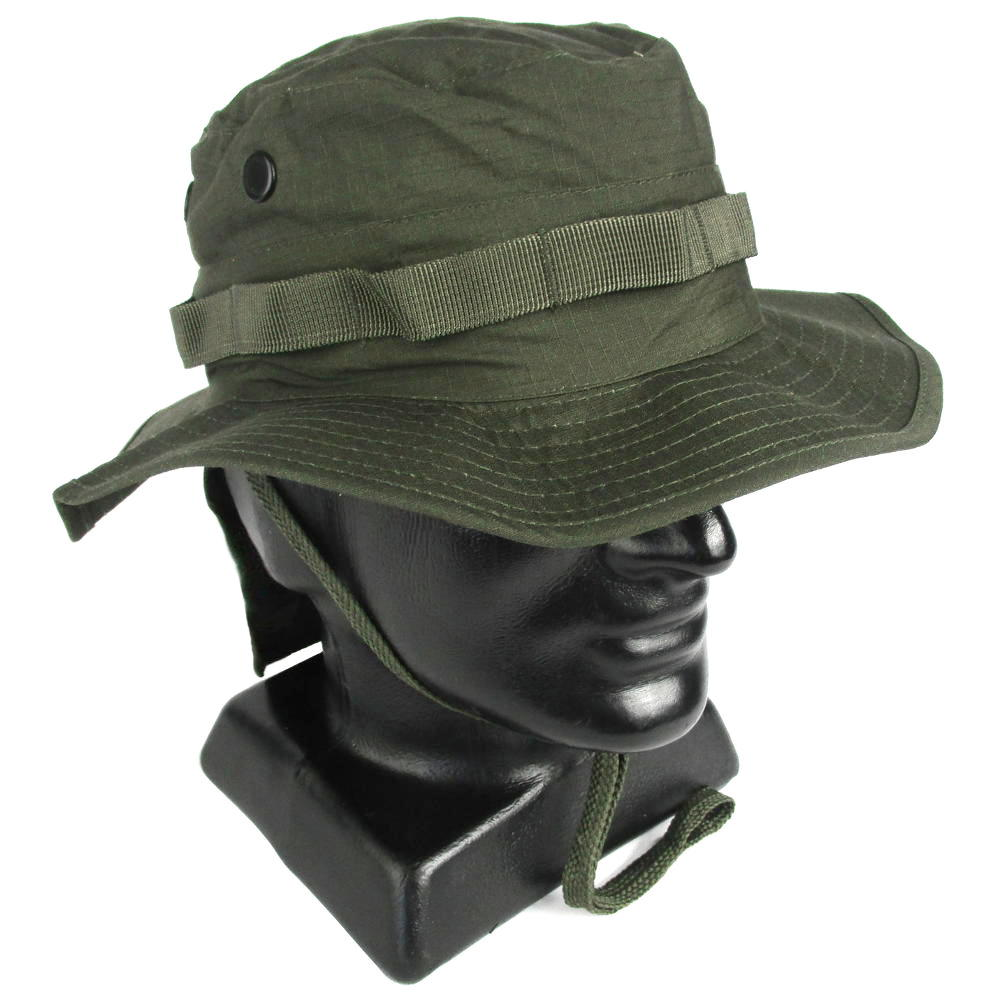 Olive Drab Boonie Hat with Neck Flap  e2dc5154d5c