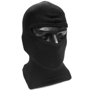 Black One Hole Polyprop Balaclava