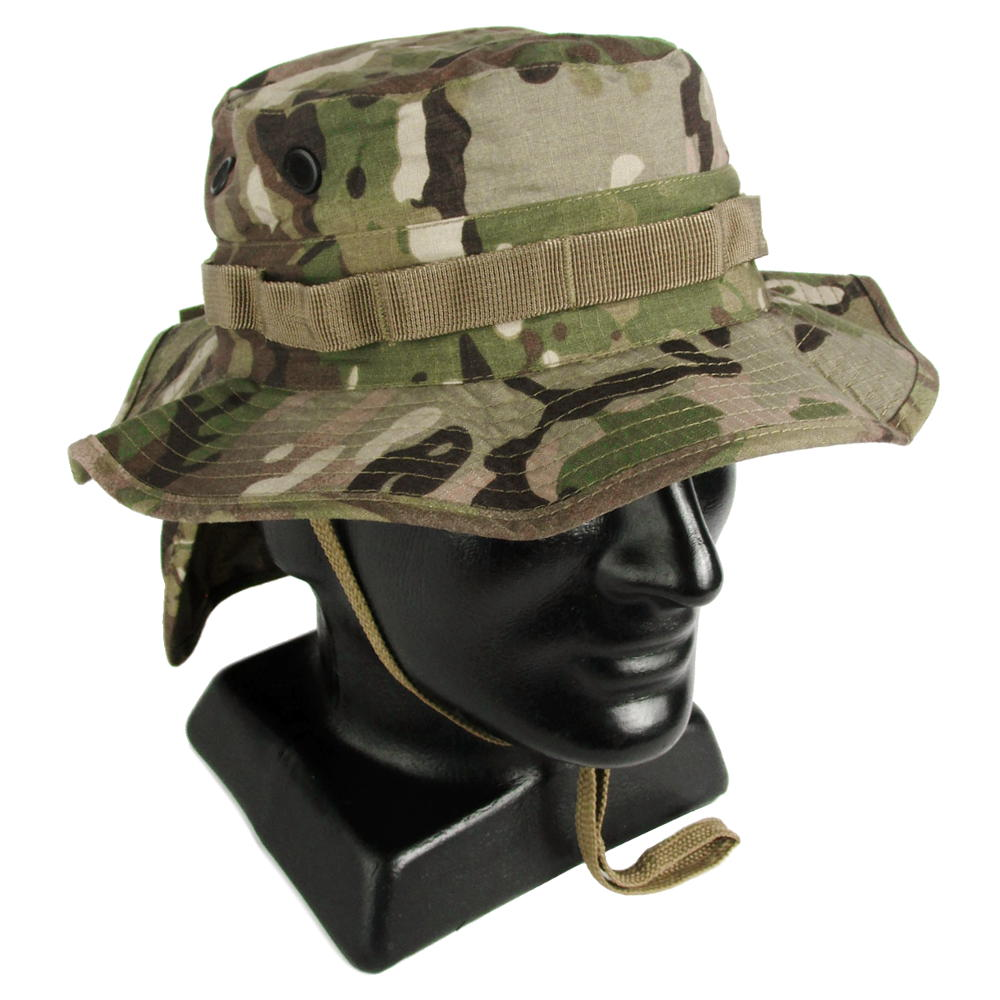 815485f3e77 Multicam Boonie Hat with Neck Flap