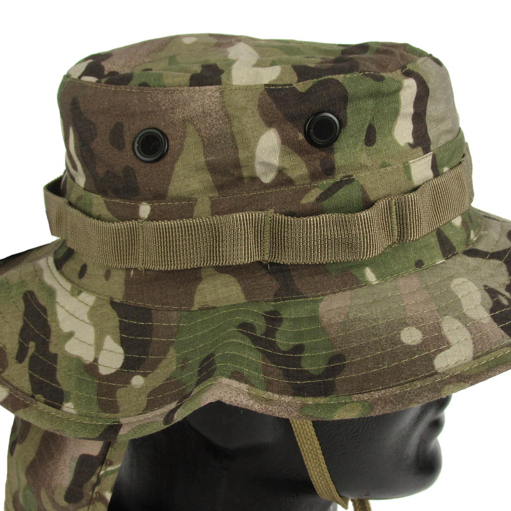 76f36781 Multicam Boonie Hat with Neck Flap   Army & Outdoors