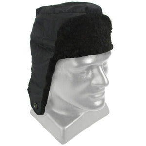 937772cd8be Czech Army Black Fur Hat