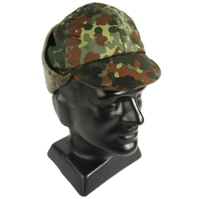 German Flecktarn Cold Weather Hat