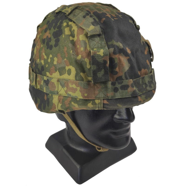 German Army Reversible Flecktarn Helmet Cover