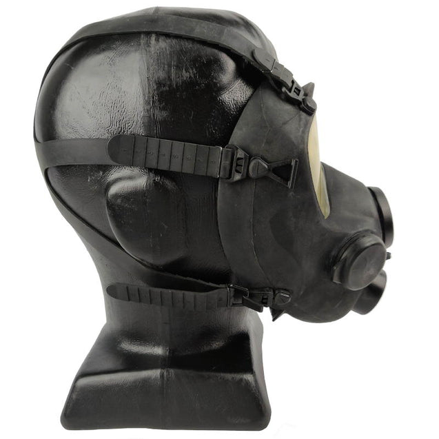 French Army Black ARF-A Gas Mask - No Filter