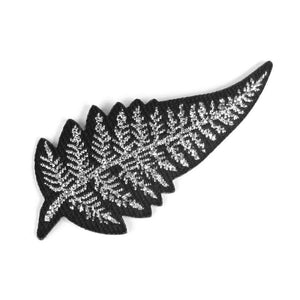 Silver Fern Iron-on Patch