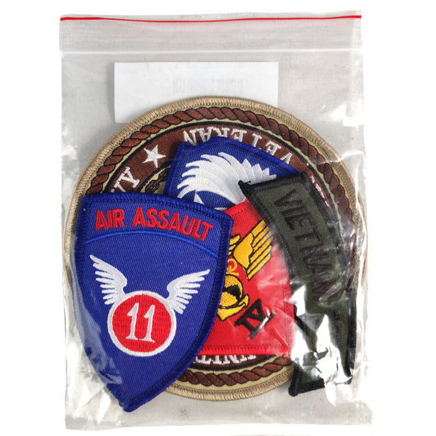 US Military Patches 5 Pack