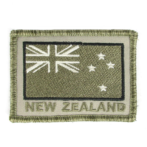 NZ Subdued Velcro Patch